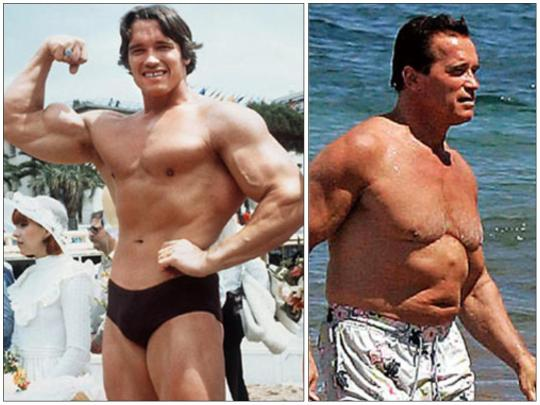 Body Builder ~ 08 ~ Arnold Schwarzenegger (Then & Now)